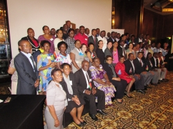 Delegates at the meeting, from all over the SADC region