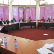 The SDC delegation meets the Permanent Secretary and CSTL team: 26 May 2015
