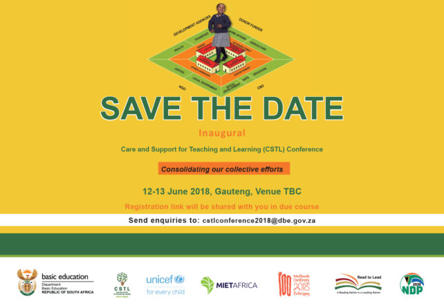 SAVE THE DATE Inaugural Care and Support for Teaching and Learning (CSTL) Conference